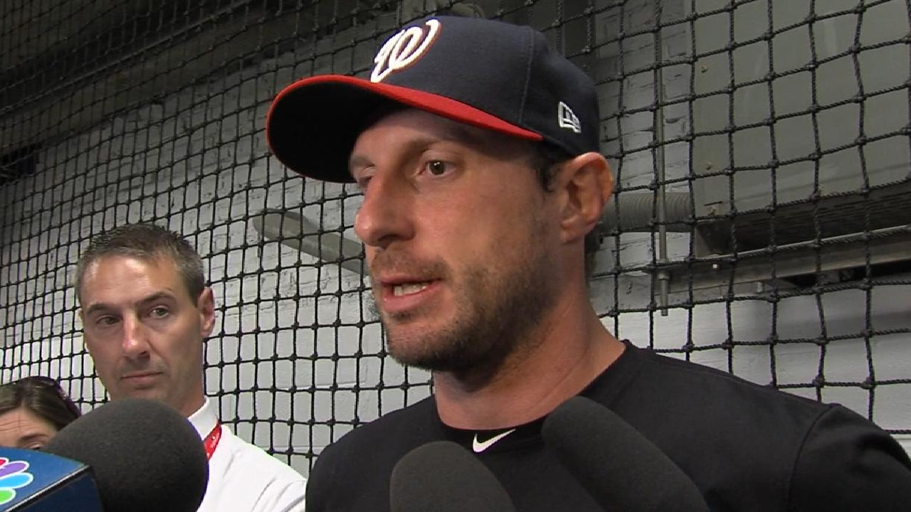 Scherzer on strong NLDS outing