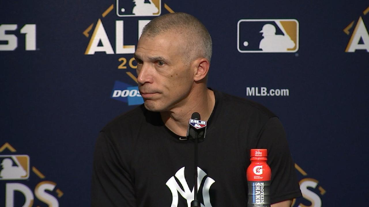 Girardi on tying the series