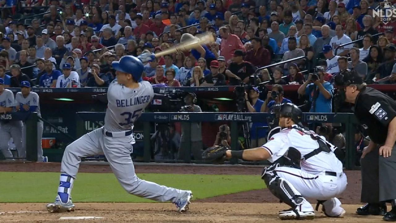 Bellinger's solo home run