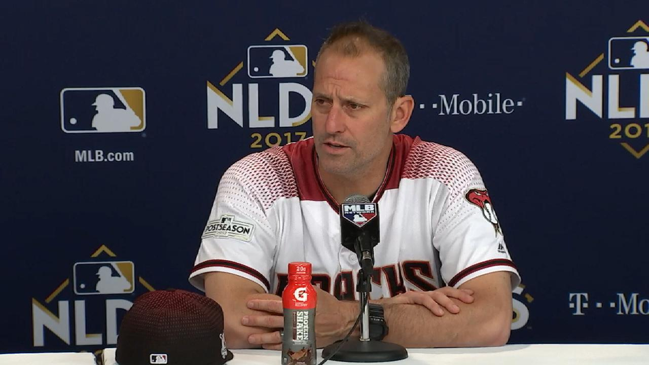 Lovullo on loss to the Dodgers