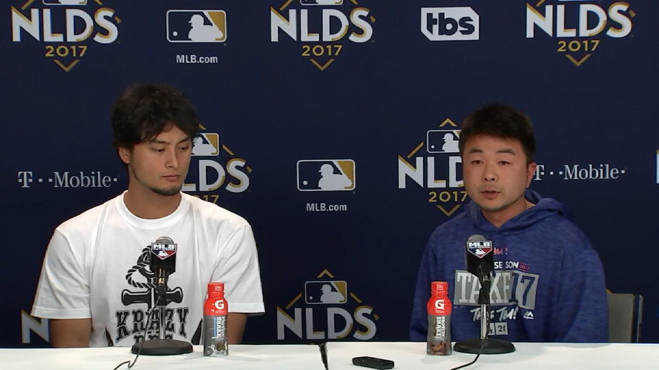 NLDS Game 3: Yu Darvish postgame interview