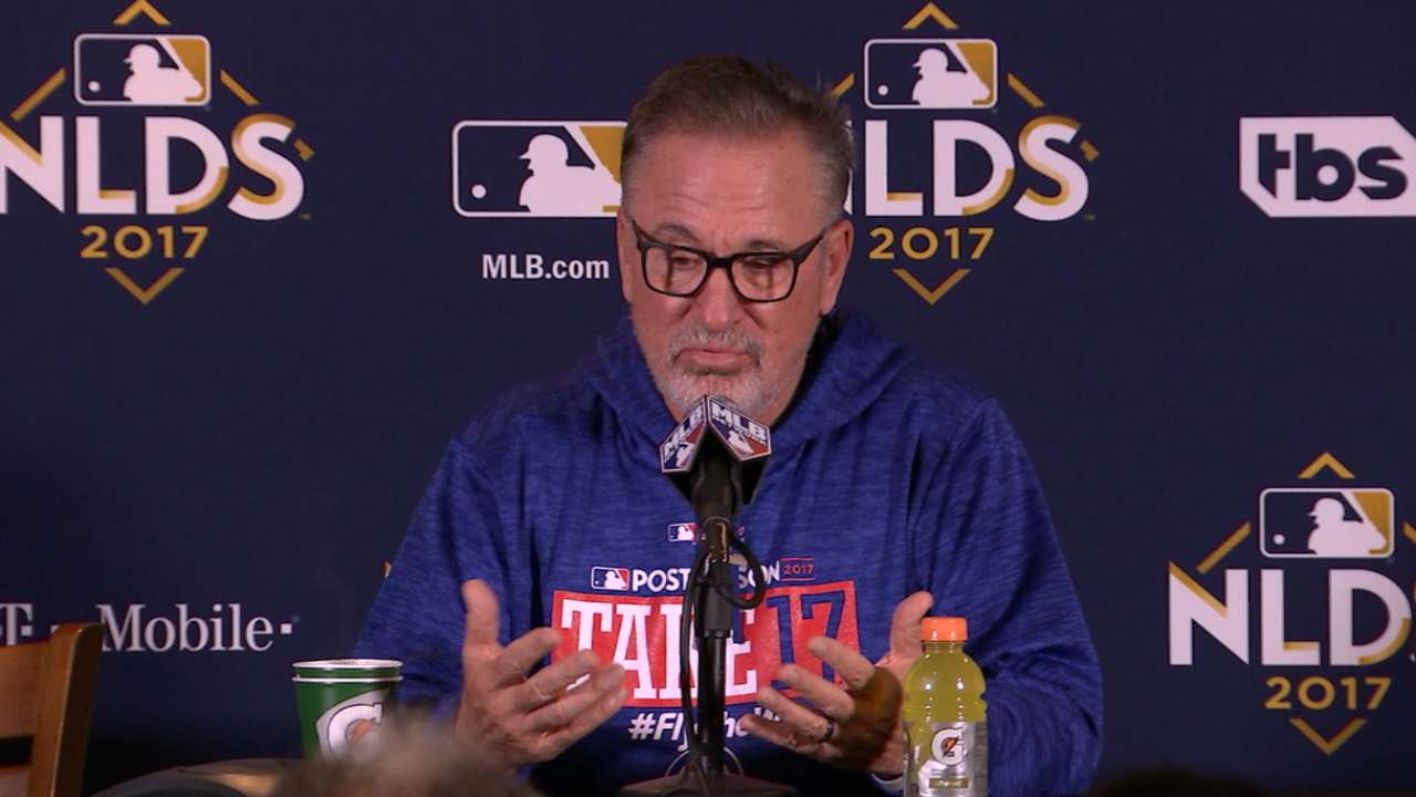 Maddon on beating the best