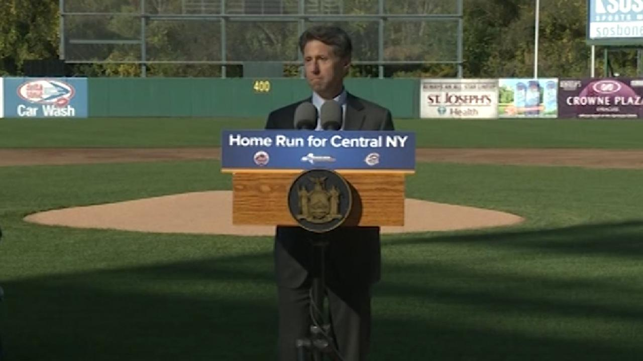Mets purchase Triple-A Syracuse Chiefs