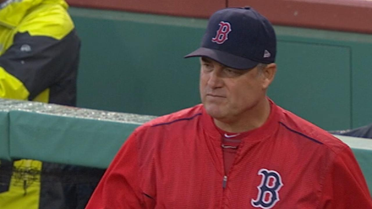 Dombrowski on talking to Farrell
