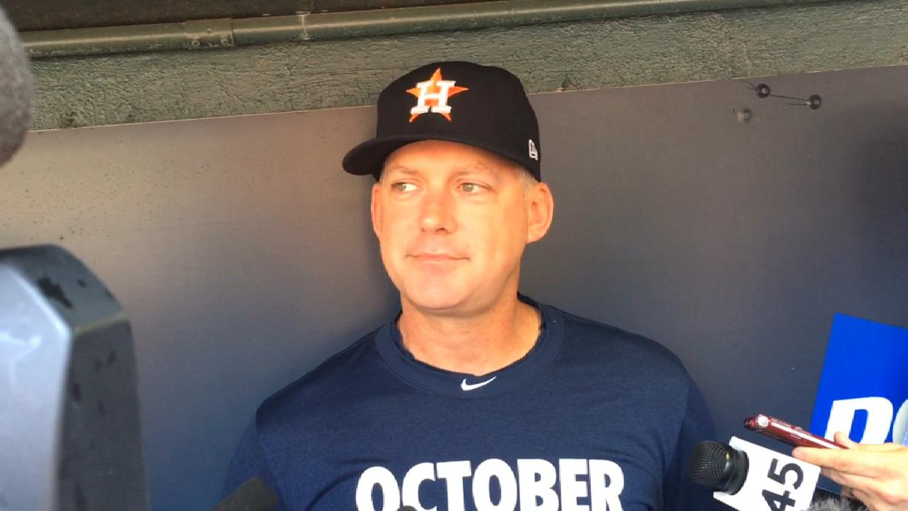 Astros happy to stay home but wary of Yanks