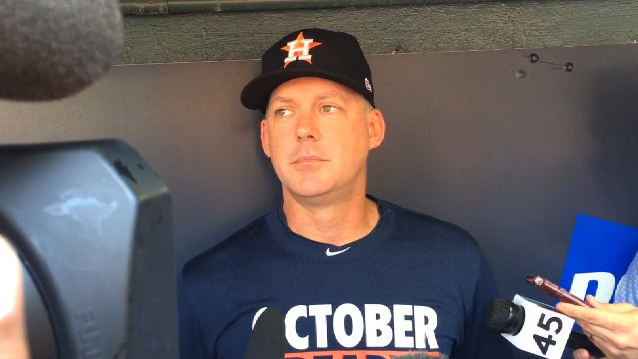 Hinch on what's next for Astros