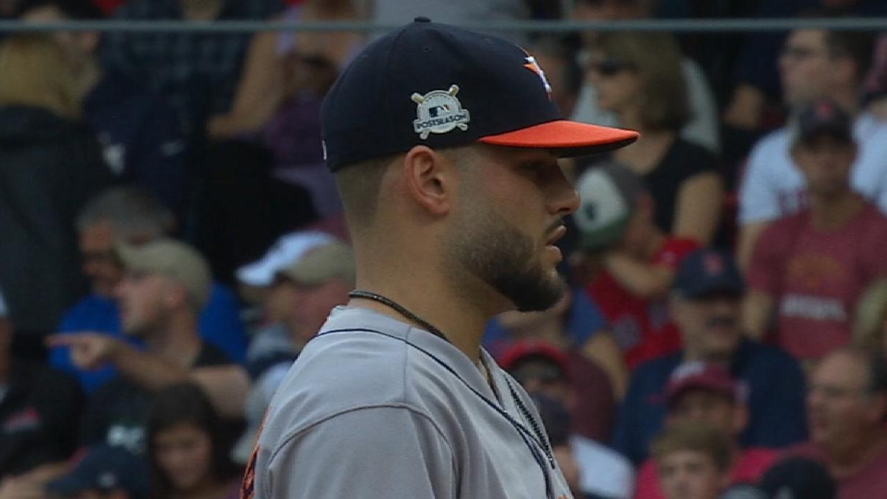 Hinch on ALCS roster