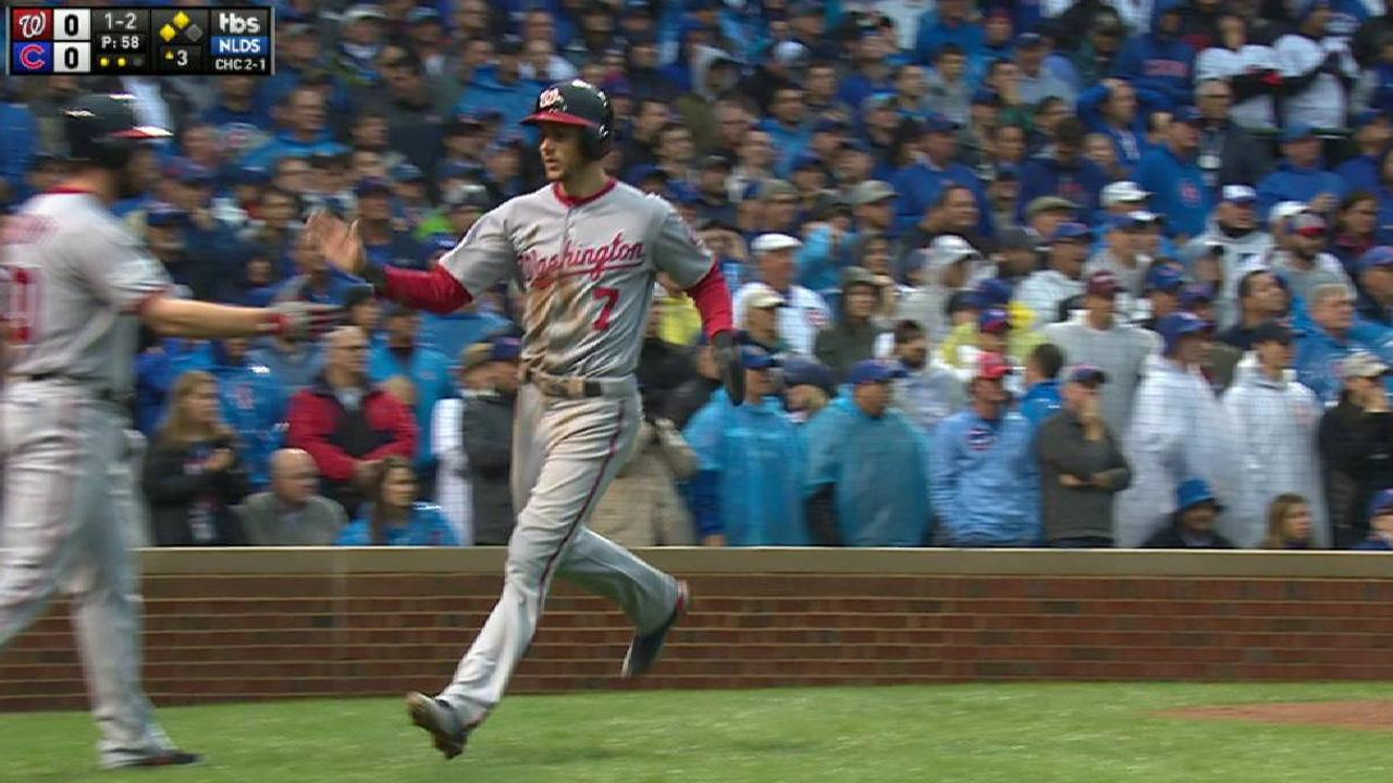 Turner scores on error in 3rd