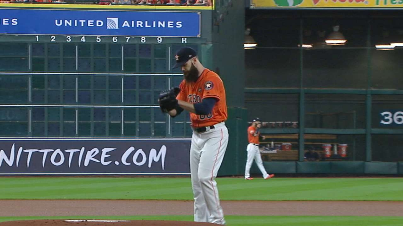Hinch on ALCS starters