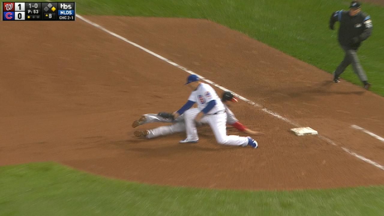 Lester picks off Zimmerman