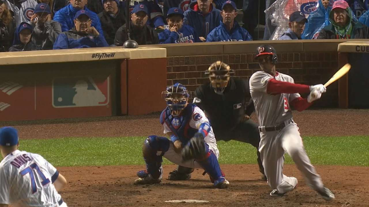 Taylor's grand slam to right