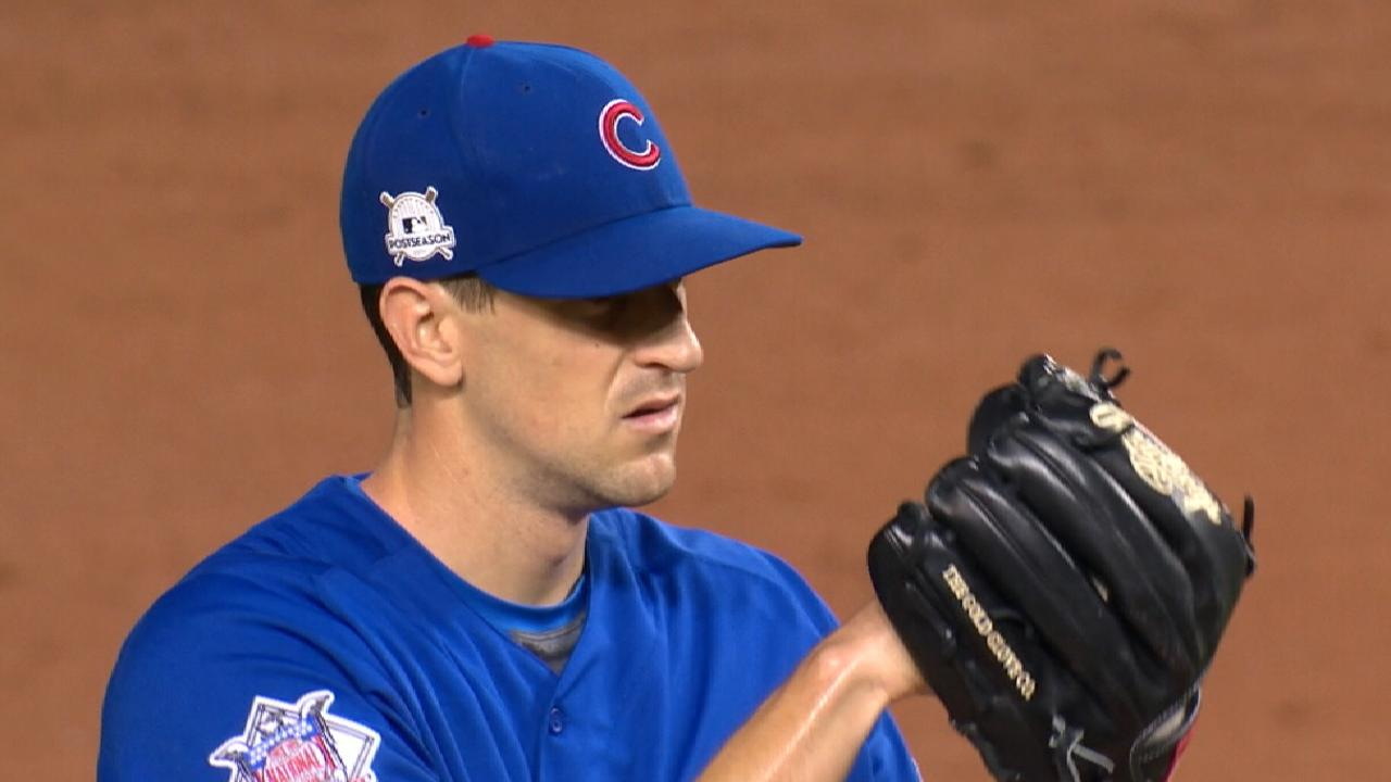 Hendricks set for Game 5 of NLDS