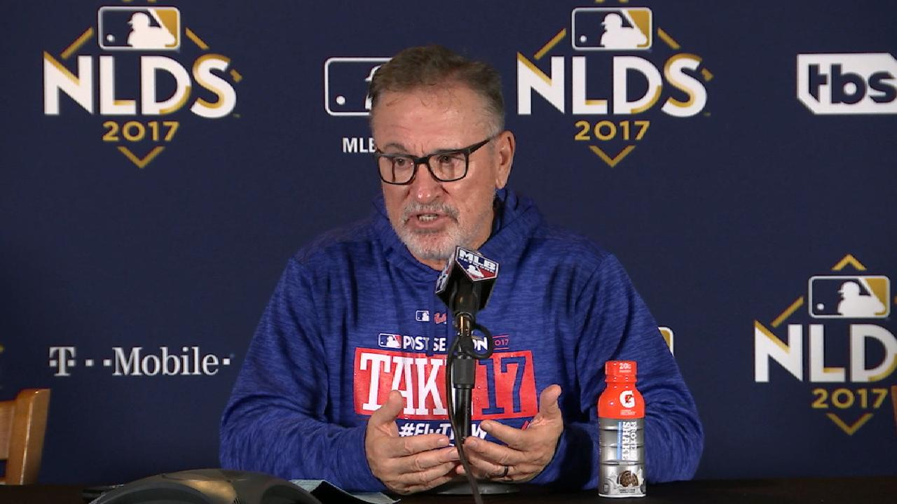 Maddon on Game 4 loss