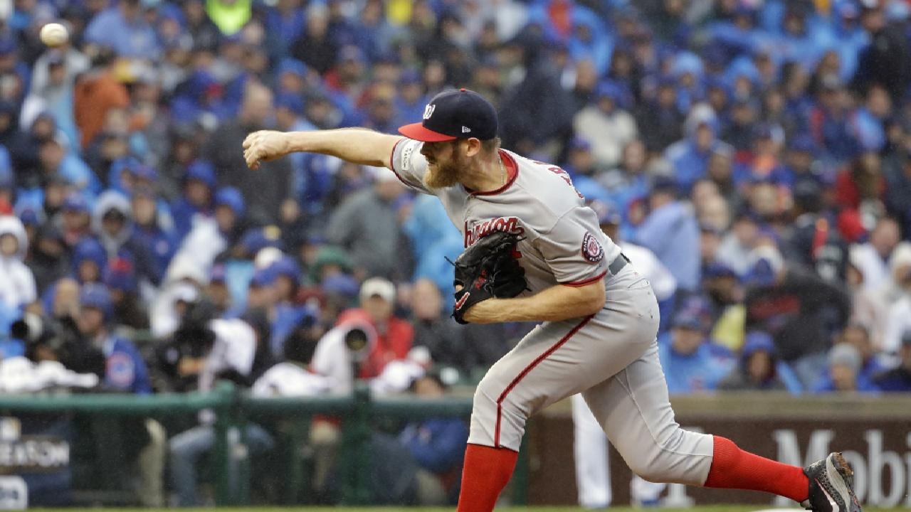 NLDS Game 4: Stephen Strasburg postgame interview