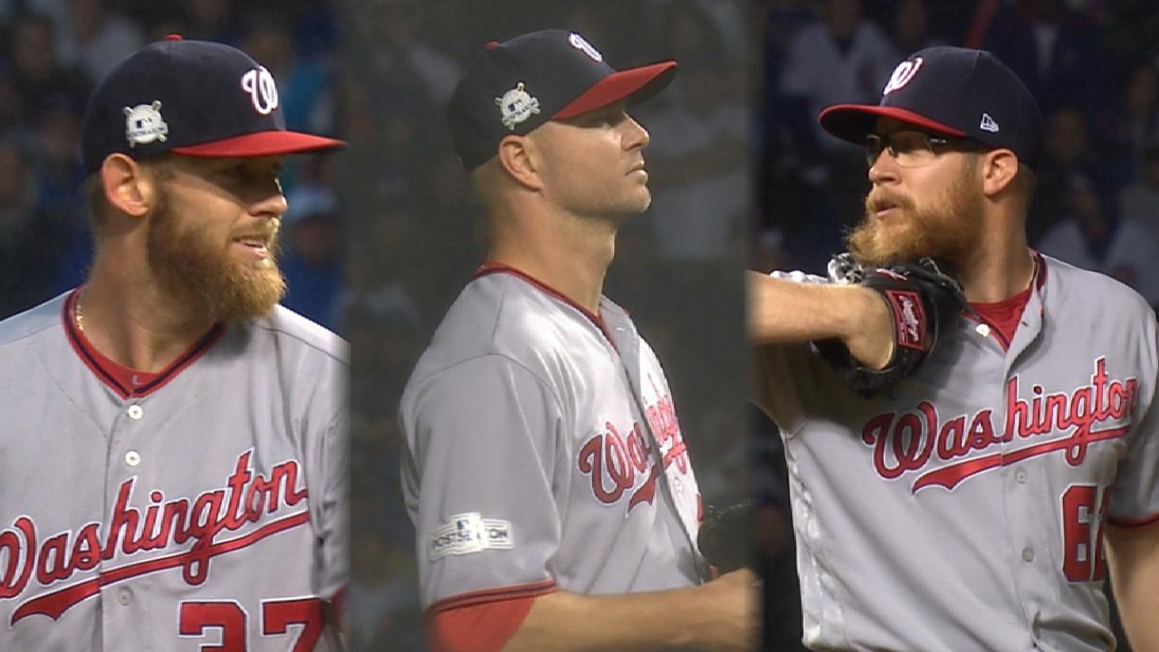 Flu the coop: Stras leads shutout of Cubs
