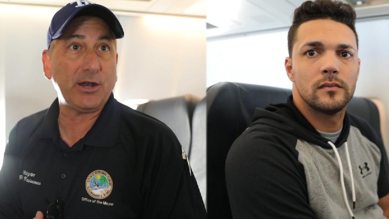 Rays visit Puerto Rico, provide hurricane aid