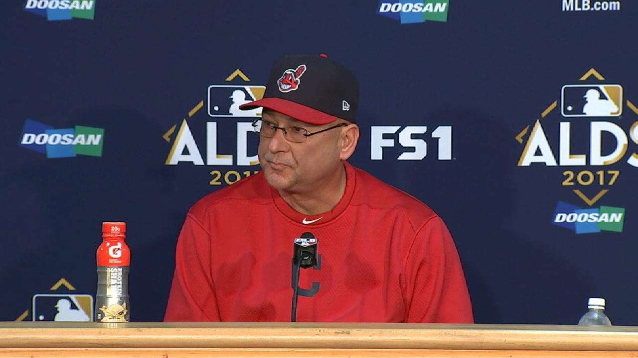 Francona on the Indians' season