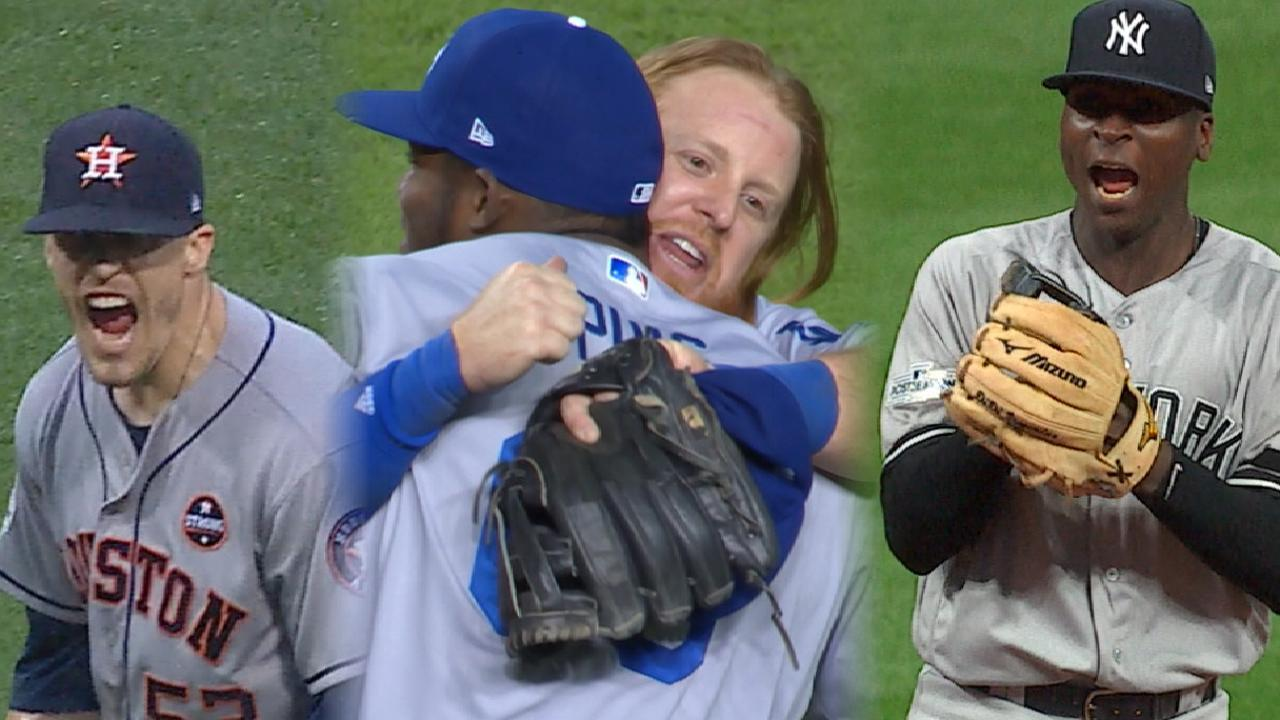 All DS clinches on road -- good sign for Cubs?
