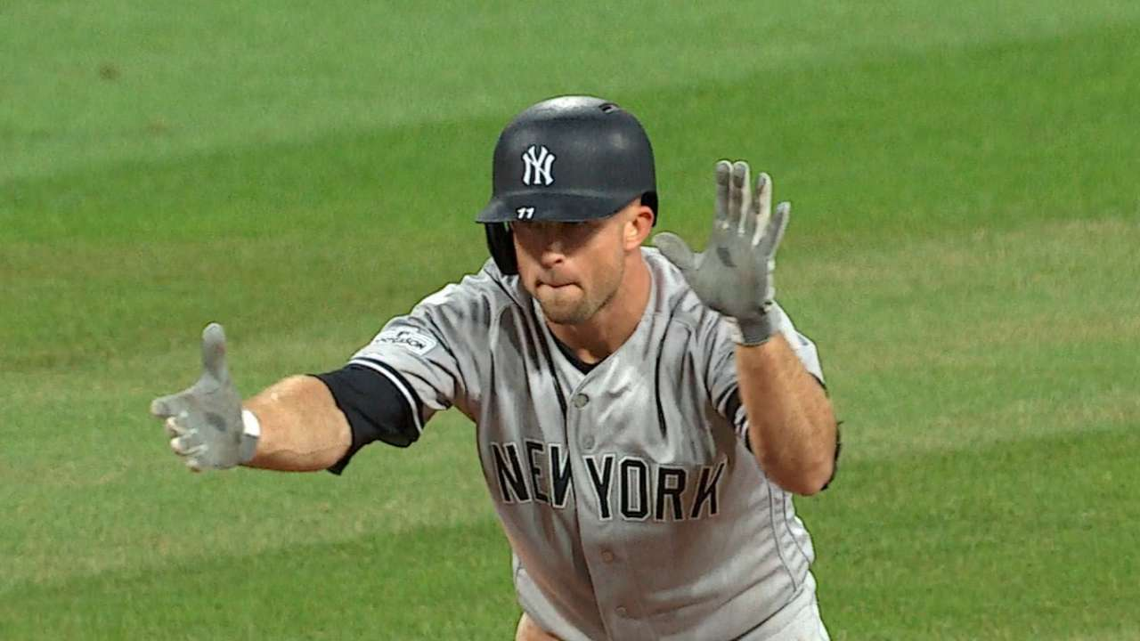 Gardner's patience pays off late for Yankees