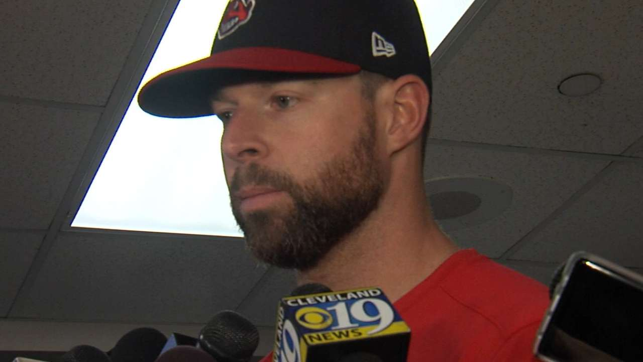 Kluber on his Game 5 start
