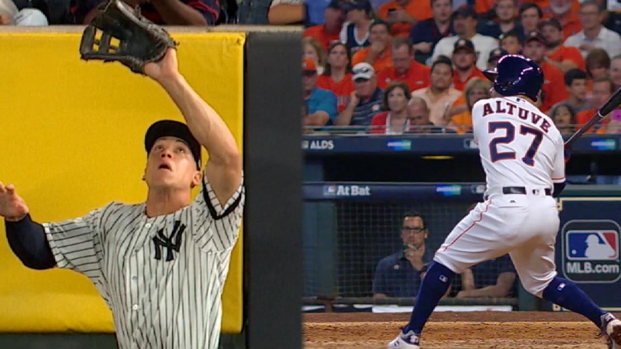 Altuve's Astros stack up vs. Judge's Yankees