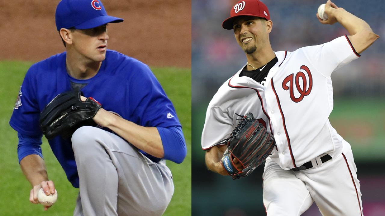 Cubs, Nationals lineups for Game 5 of NLDS