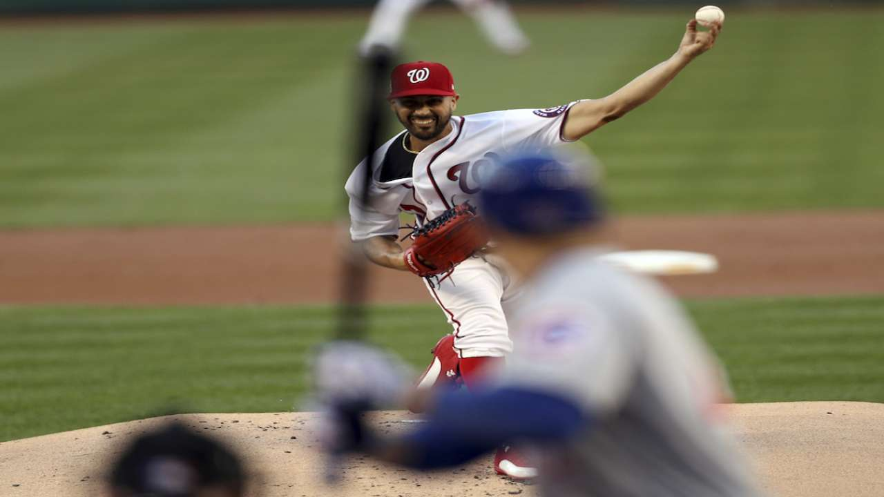 Gio draws start for Nats in decisive Game 5