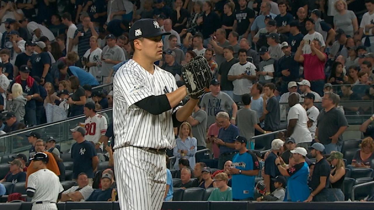 Yankees set ALCS rotation against Astros