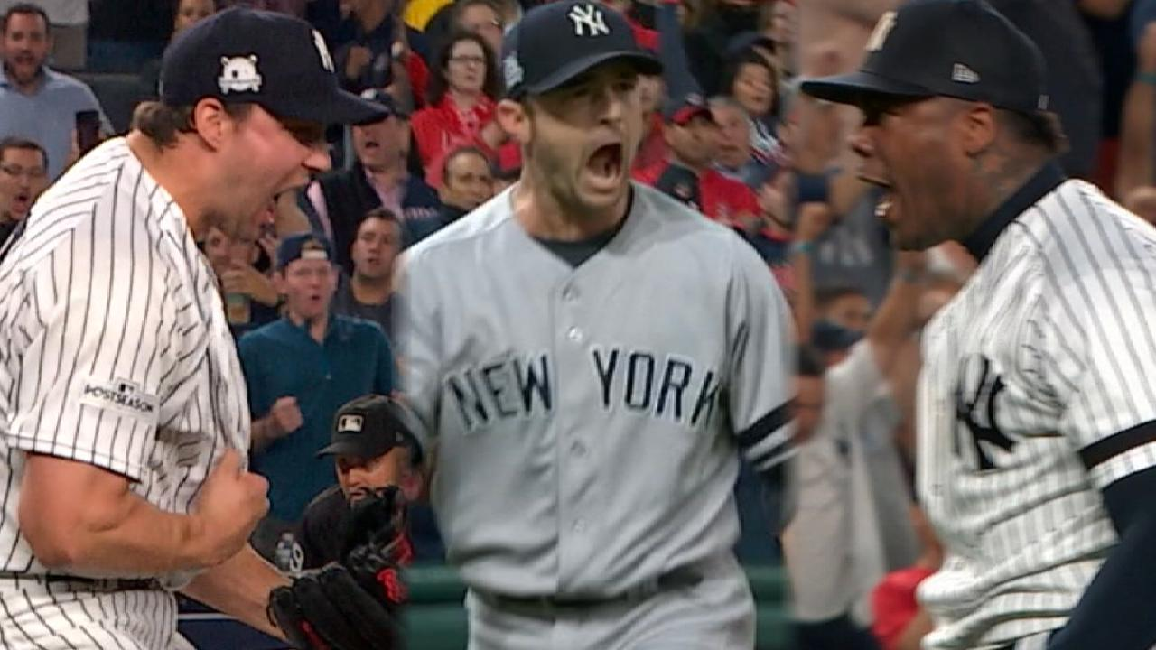 Bullpen of the Week: Yanks close out ALDS