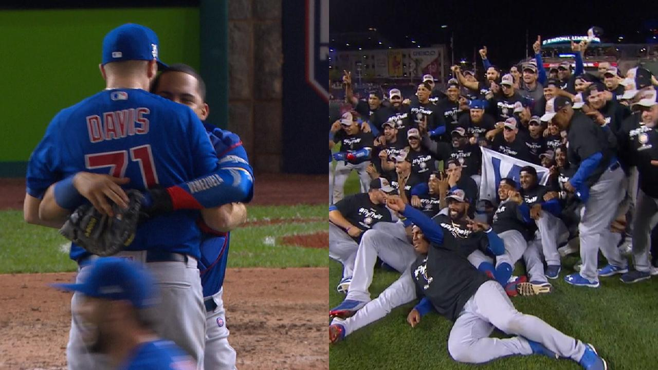 Cubs savor moment after hard-fought series