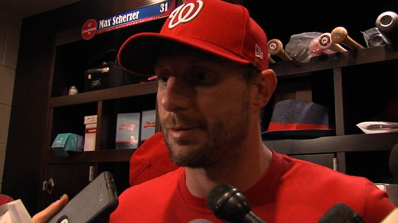 Scherzer on tough Game 5 loss
