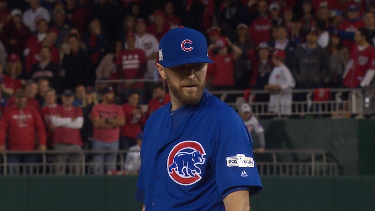 'Stone cold' Davis closes NLDS with 7-out save