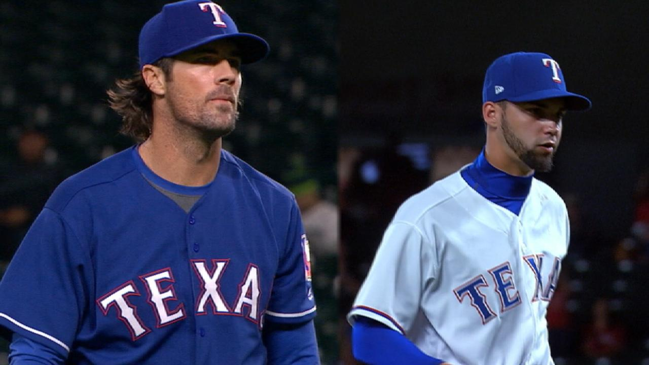 Rangers looking to bulk up the bullpen