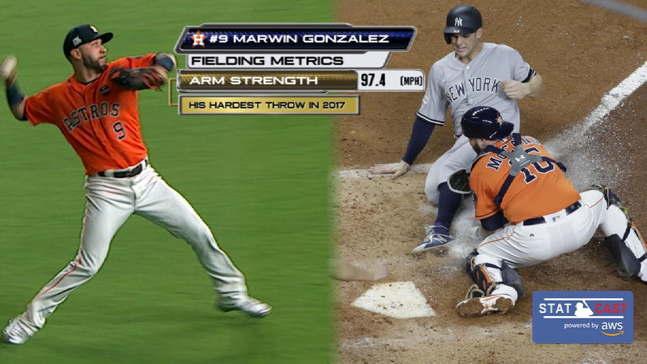 Statcast: Gonzalez nabs Bird