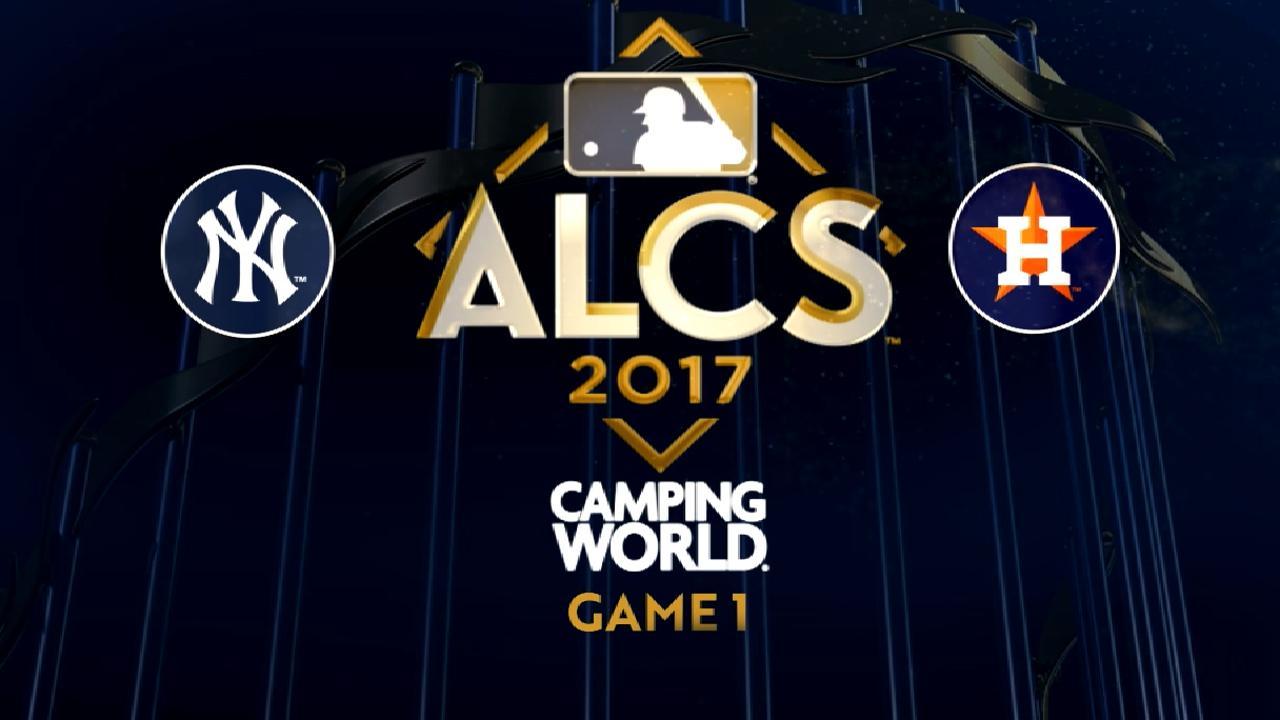 10/13/17: Keuchel y Astros se llevan el primero