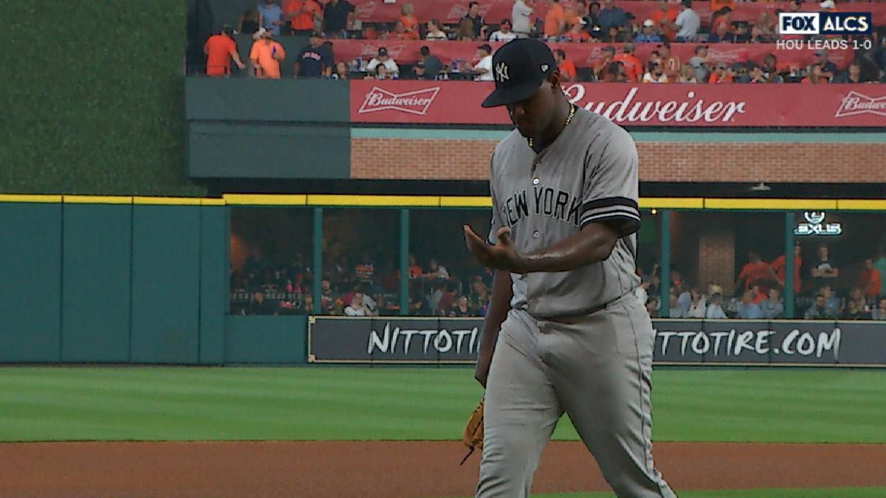Severino wanted to continue in Game 2