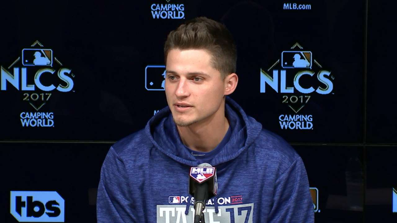 Seager on missing the NLCS