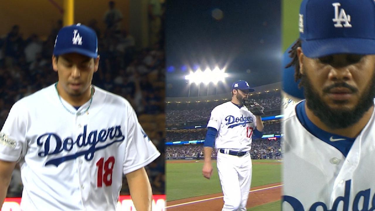 Dodgers bullpen blanks Cubs