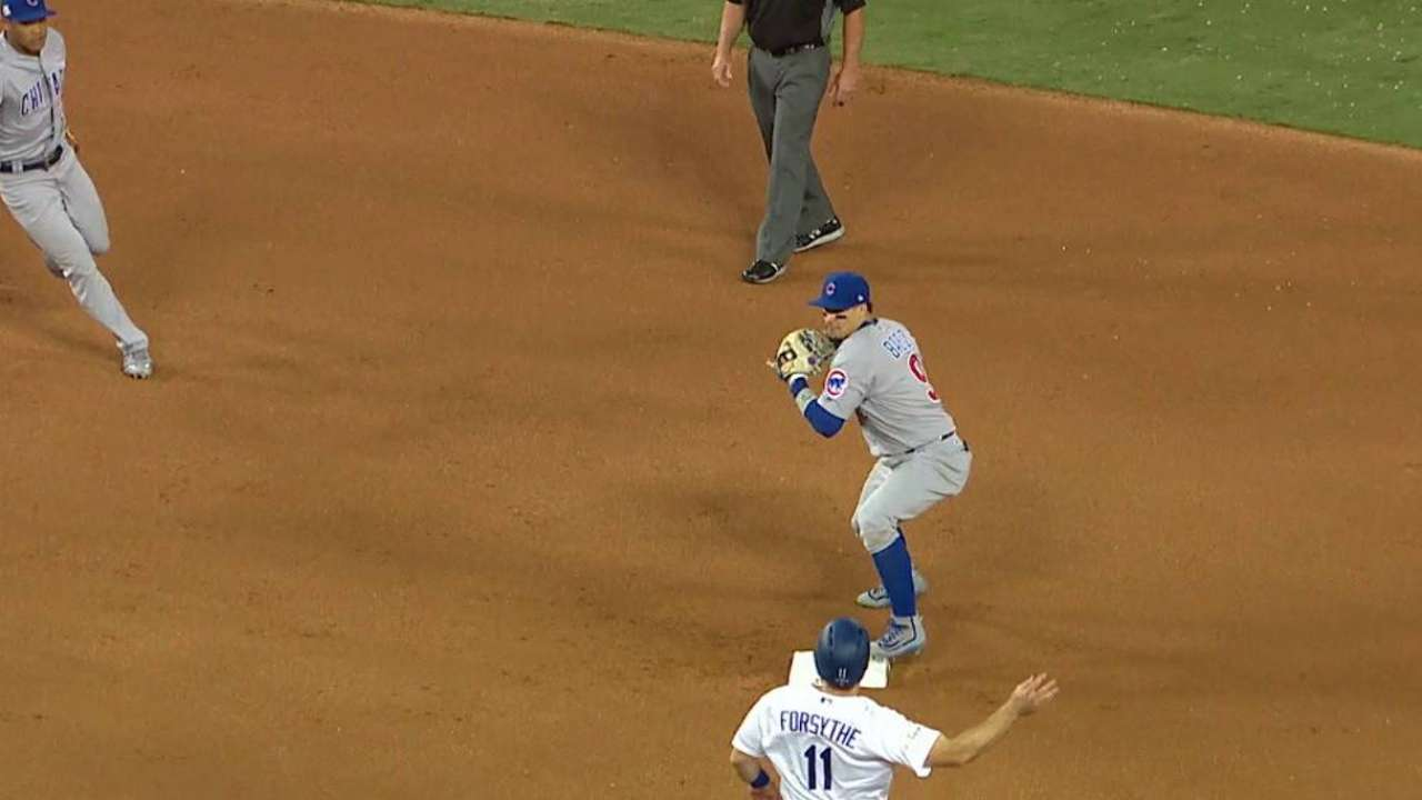 Duensing gets inning-ending DP