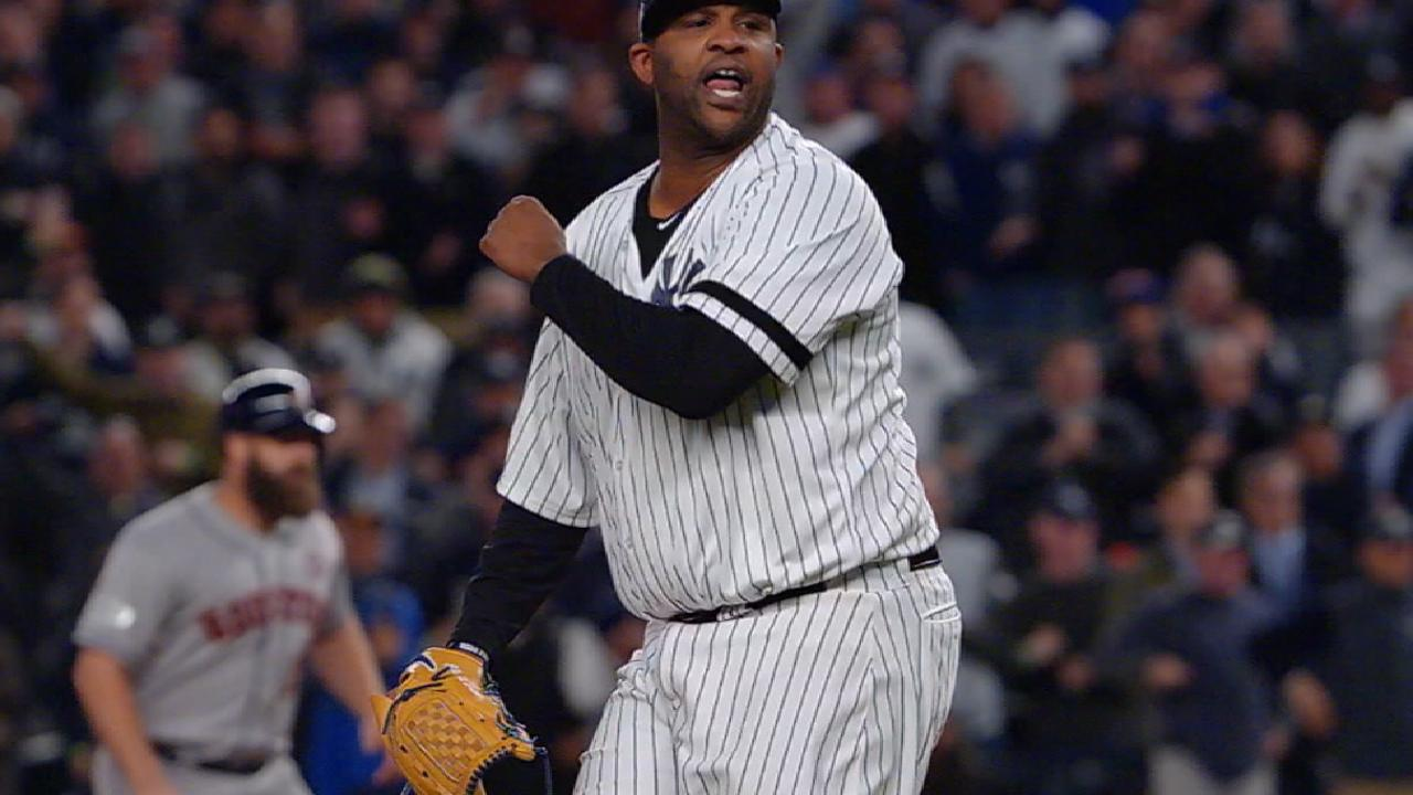 CC's performance leads Yankees