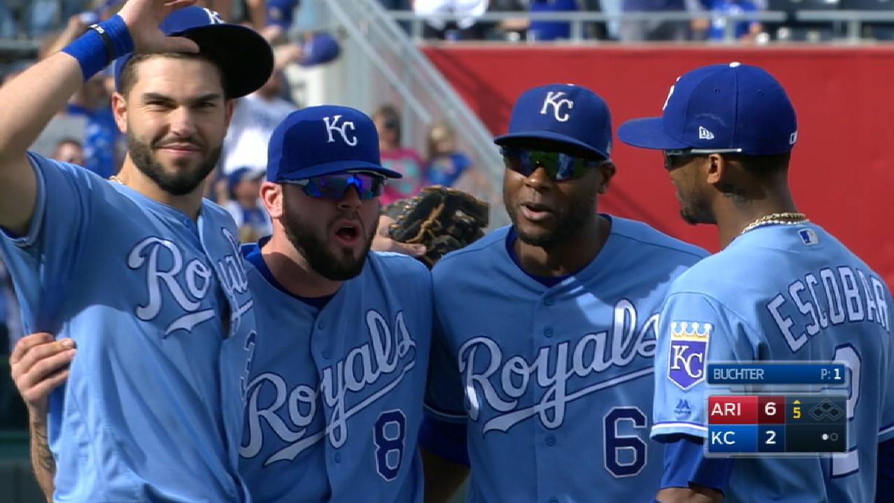 Moore reiterates his commitment to Royals
