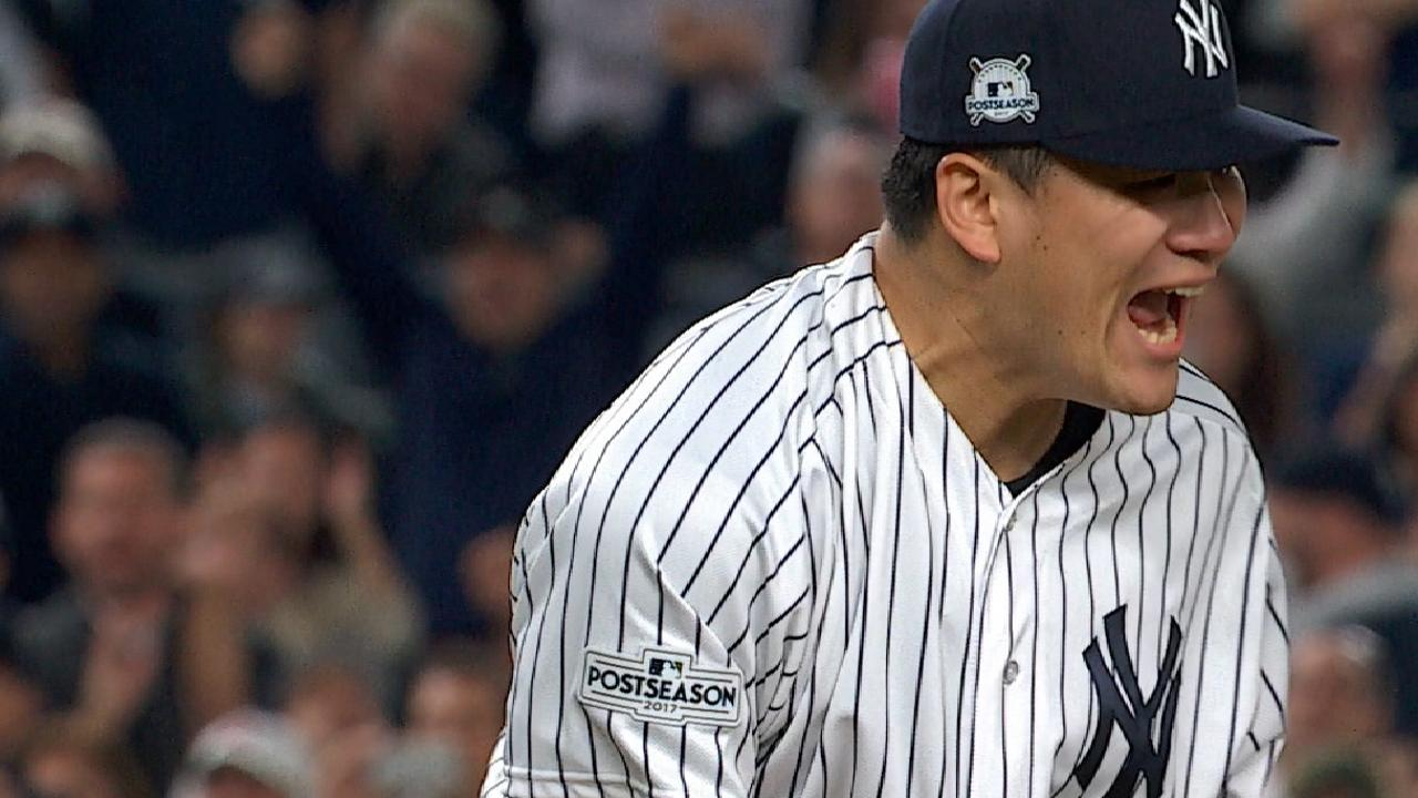 Tanaka's scoreless Game 5 outing