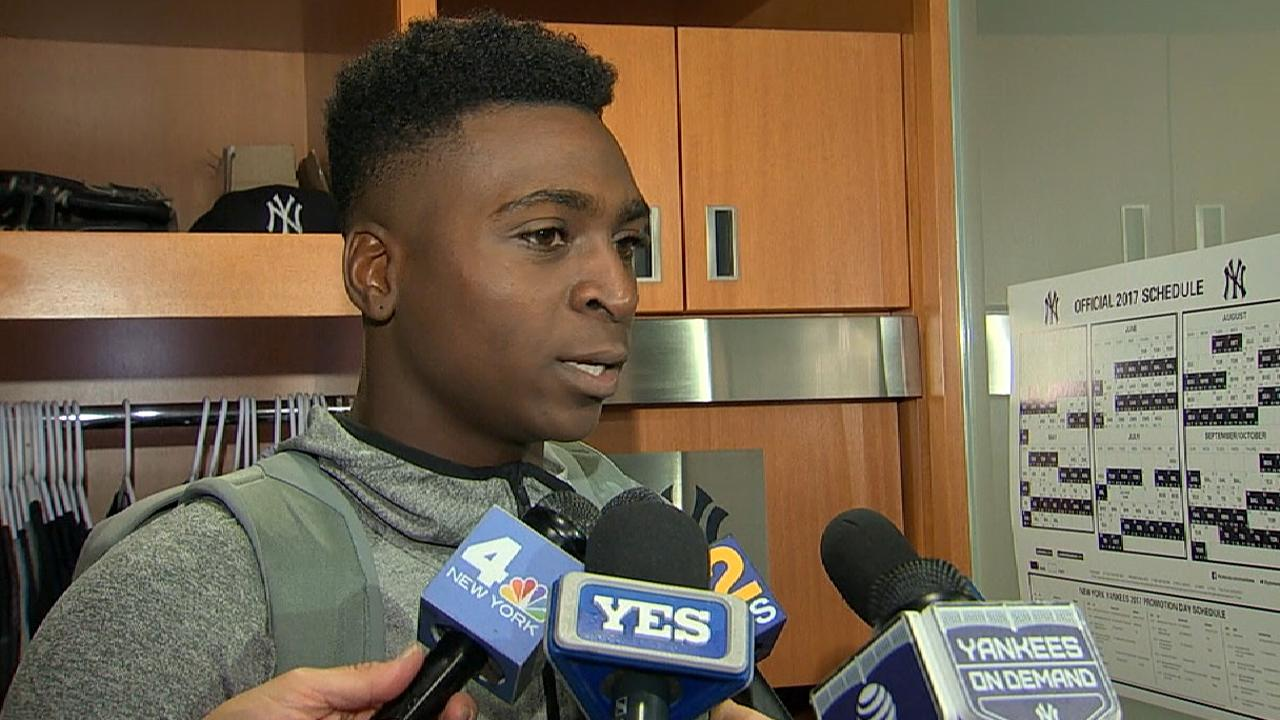 Gregorius on Game 5 offense