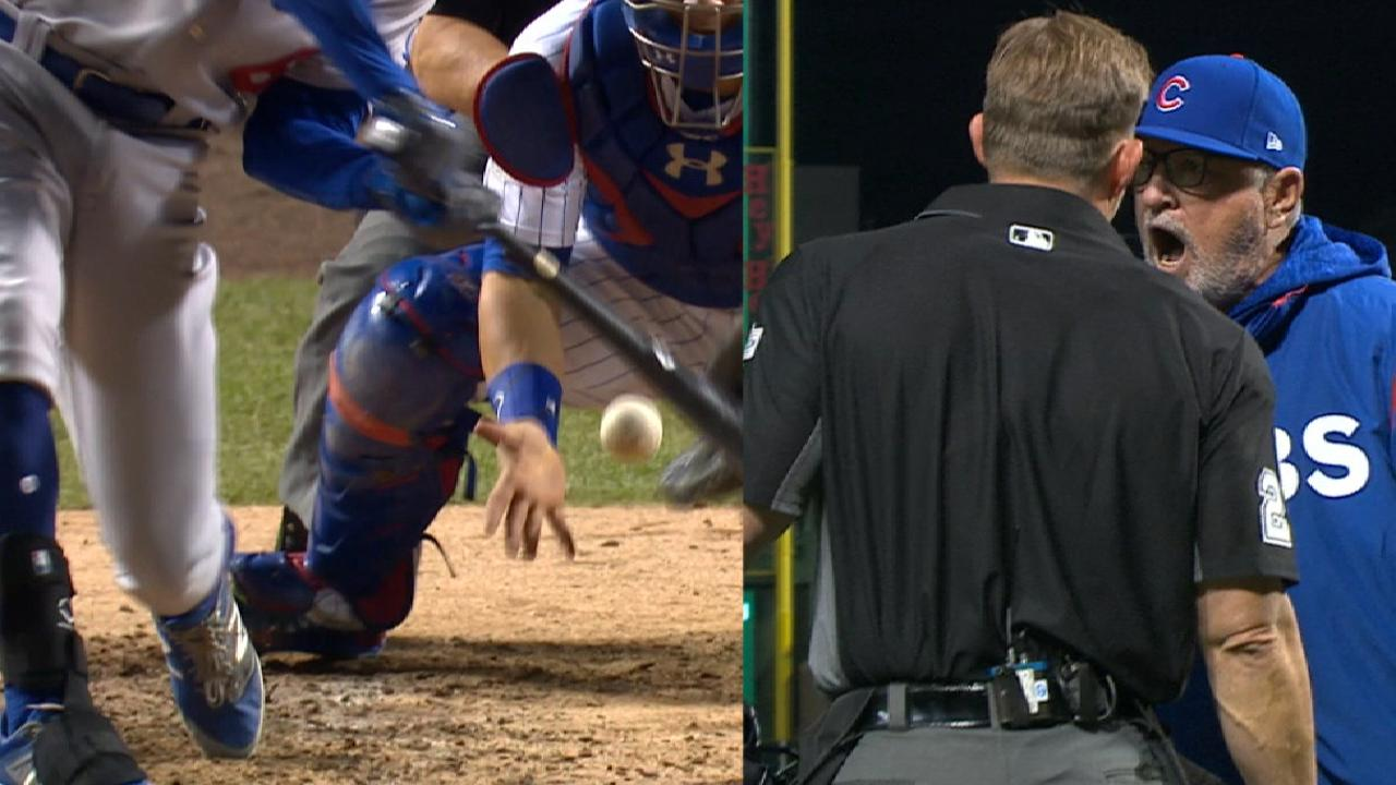 Must C: Maddon tossed after foul