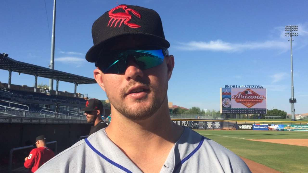 Mets' Thompson sparks offense in Fall League
