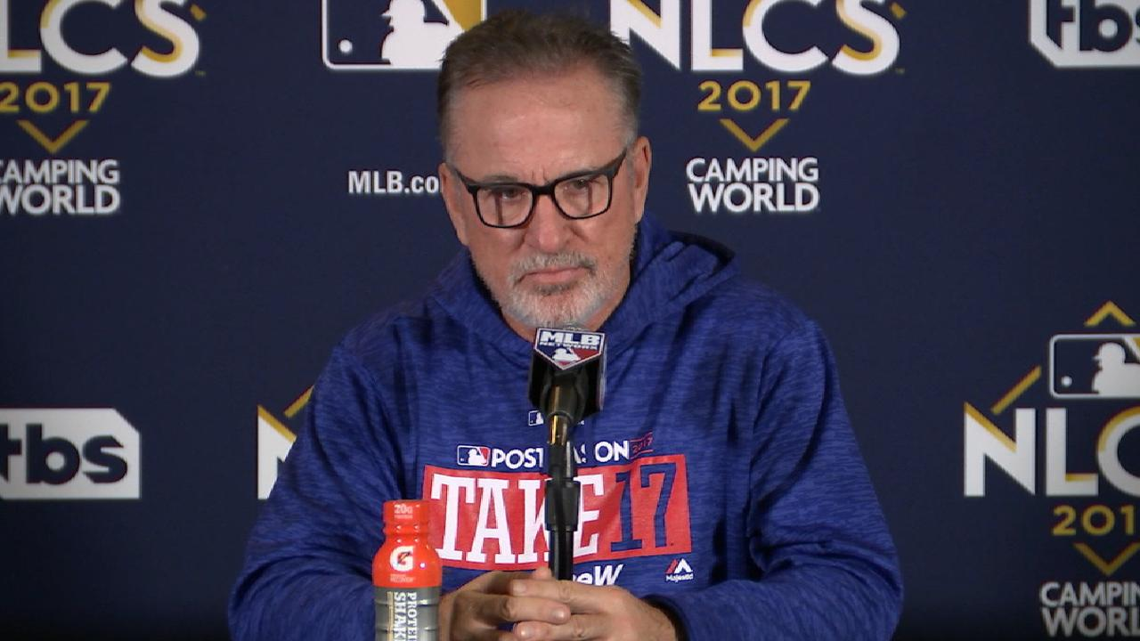 Maddon reflects on NLCS