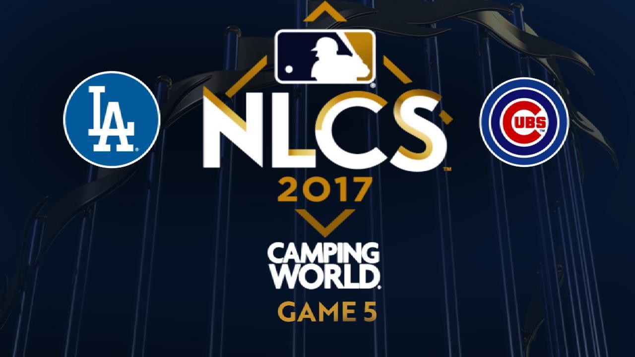 10/19/17: Dodgers son campeones de la Liga Nacional