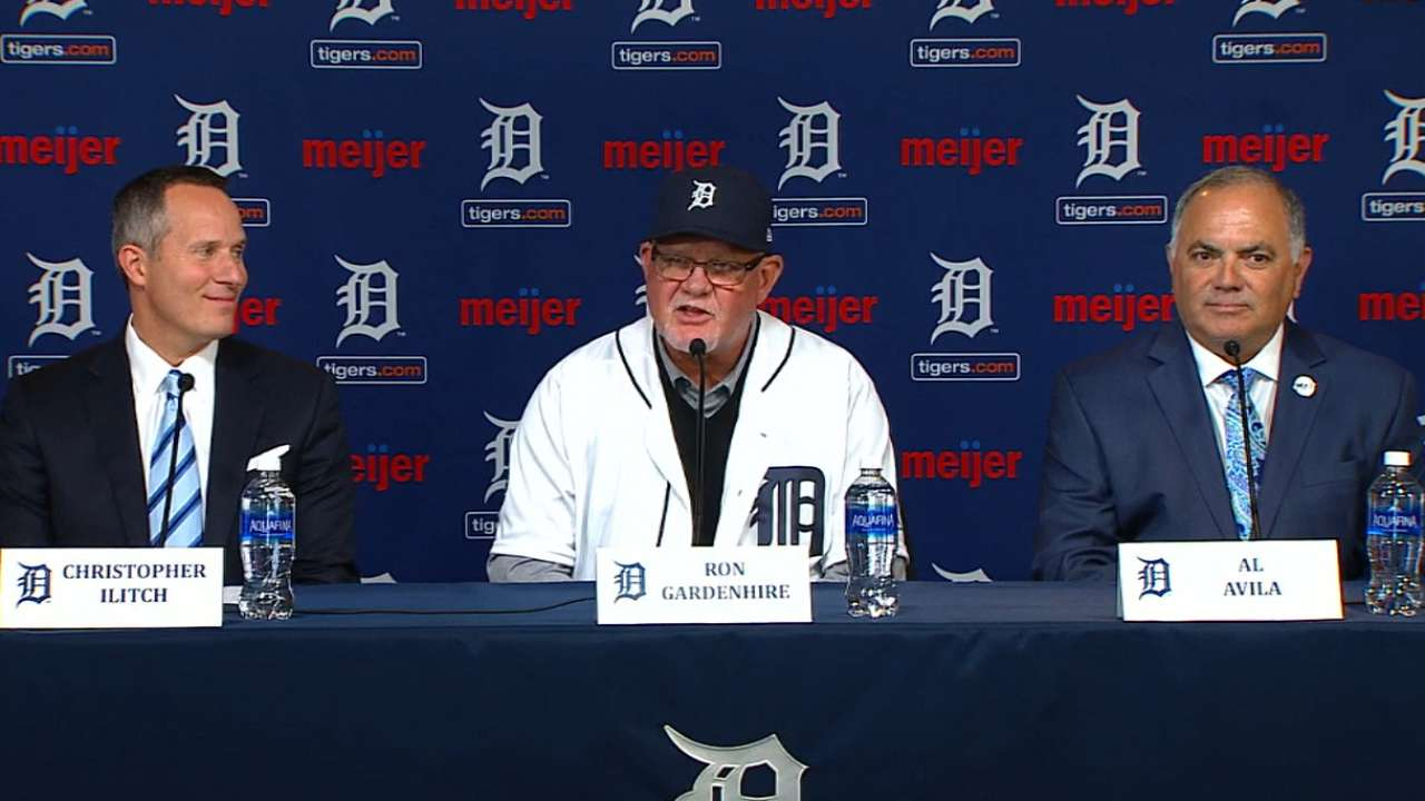 Gardenhire on his managing style