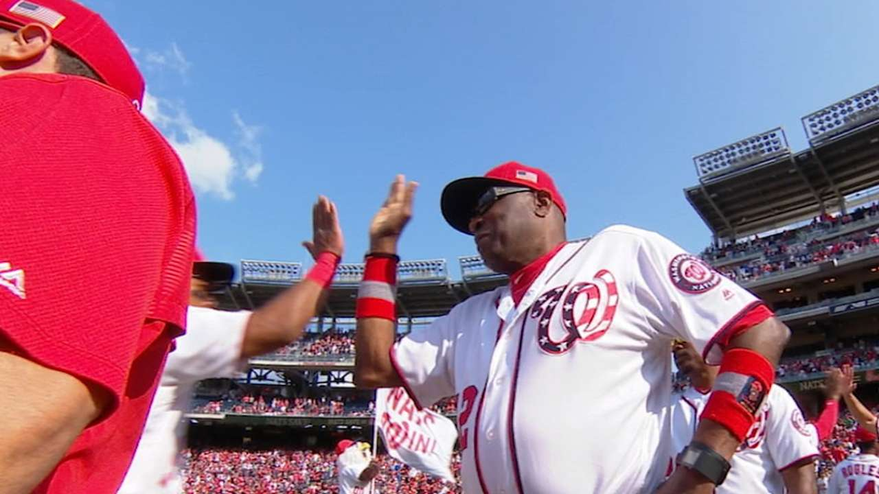 Mike Rizzo on Dusty Baker's exit
