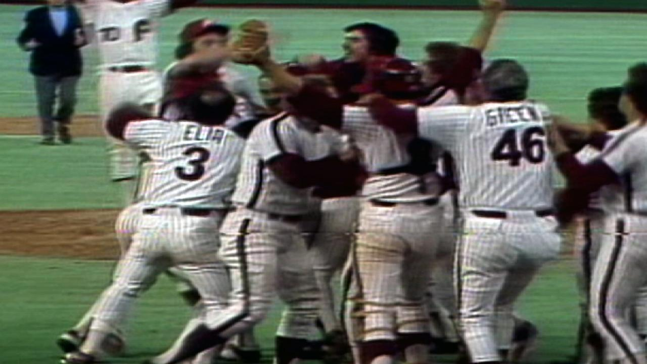 Phillies win 1980 World Series